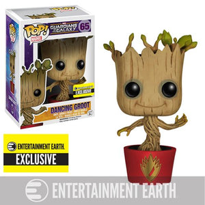 POP! Marvel: 65 Guardians of the Galaxy, Dancing Groot (EE)