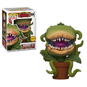 PRE-ORDER - 10/18 POP! Movies: 654 Little Shop of Horrors, Audrey II Chase Bundle