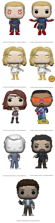 PRE-ORDER - POP! Television: The Boys (w/ Chase) (Bundle)