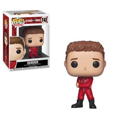 PRE-ORDER - 01/2019 POP! TV: 742 La Casa de Papel (Money Heist), Denver