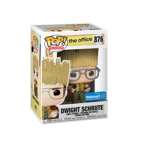 POP! Television: 876 The Office, Dwight Schrute (Hay King) (Walmart Exclusive)