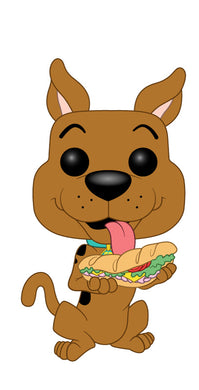 POP! Animation: Scooby Doo, Scooby Doo w/ Sandwich