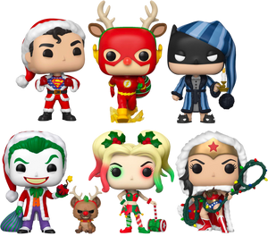 PRE-ORDER - POP! Heroes: DC Holiday (Bundle of 6)