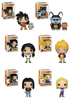 POP! Animation: Dragon ball Z, Bundle set of 6