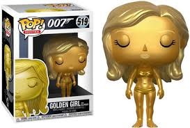 POP! Movies: 519 James Bond, Golden Girl From Goldfinger