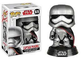 POP! SW: 065 Star Wars The Last Jedi, Captain Phasma (White Box)