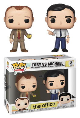 POP! TV: The Office, Toby vs. Michael (2-Pack)