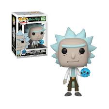 POP! Animation: 692 Rick and Morty, Rick w/Crystal Skull