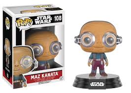 POP! SW: 108 Star Wars Force Awakens, Maz Kanata