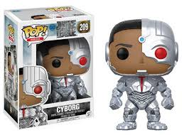 POP! Heroes: 209 Justice League, Cyborg