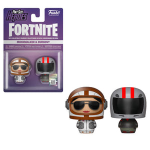 PRE-ORDER - Pint Sized Heroes: 2 pack Fortnite, Moonwalker/ Burnout