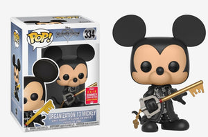 POP! Disney: 334 Kingdom Hearts, Organization 13 Mickey SDCC 18