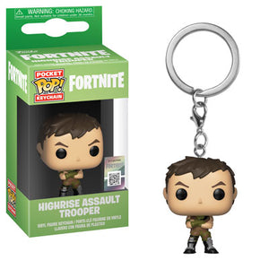 PRE-ORDER - POP! Keychain: Fortnite, Highrise Assault Trooper
