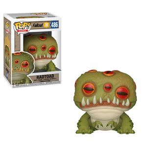 PRE-ORDER - TBD POP! Games: 486 Fallout 76, Radtoad