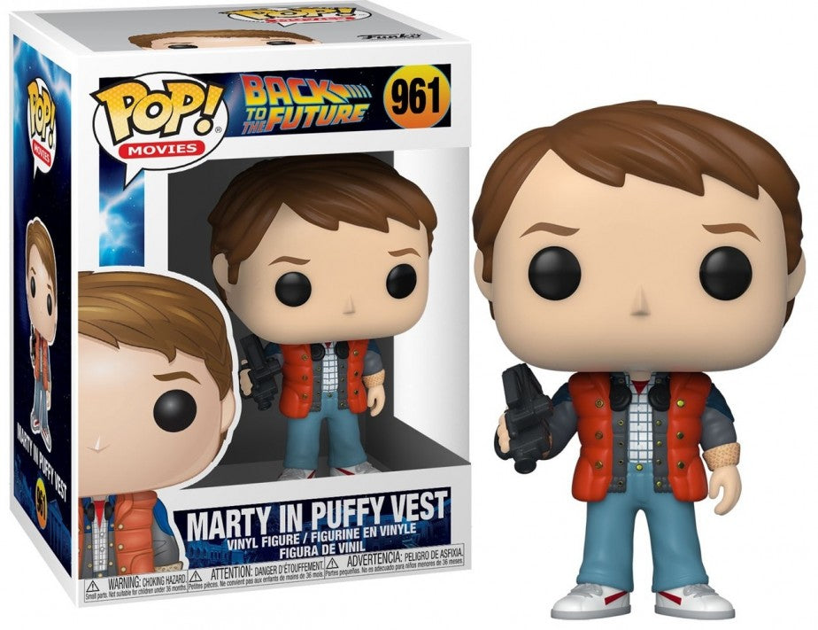 PRE-ORDER - POP! Movies: 961 Back to the Future, Marty in Puffy Vest
