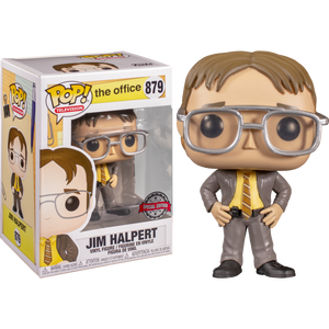 PRE-ORDER - POP! Television: 879 The Office, Jim Halpert As Dwight (Special Edition) Exclusive
