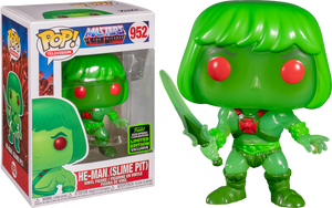 *POP! Television: 952 MOTU, He-Man (Slime Pit) (2020 Spring Convention) Exclusive