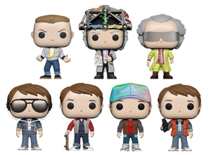 PRE-ORDER - POP! Movies: Back to the Future (Bundle of 7)