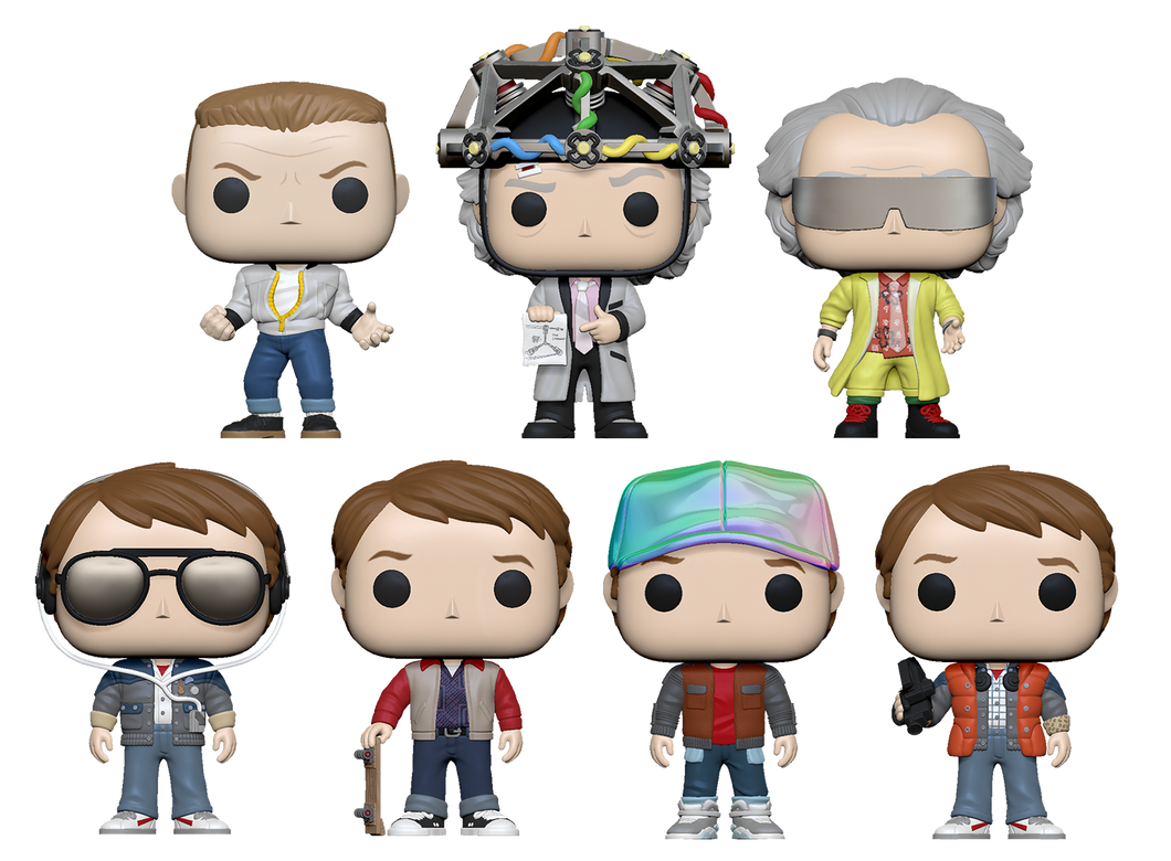 PRE-ORDER - POP! Movies: Back to the Future (Bundle)
