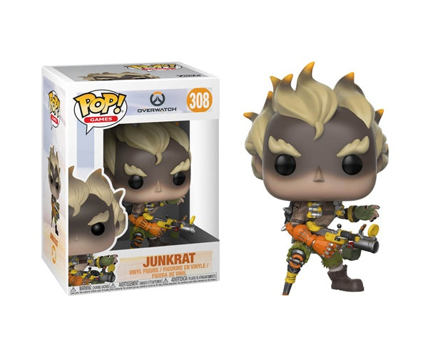 POP! Games: 308 Overwatch, Junkrat
