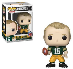 POP! Football: 116 Bart Starr, Green Bay Packers (Color) Edition