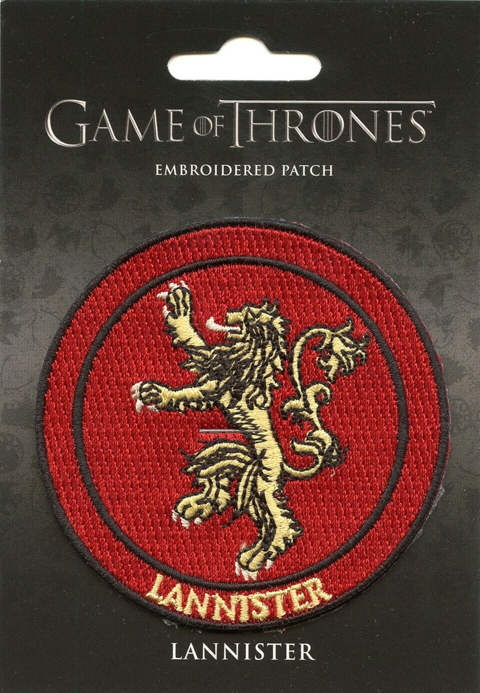 """Game of Thrones House Logo 3/"""" Embroidered Patch Set of 8-USA Mailed GTPA-Set-8"""