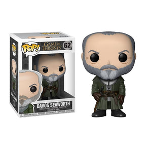 POP! Game of Thrones: 62 Game of Thrones, Davos Seaworth