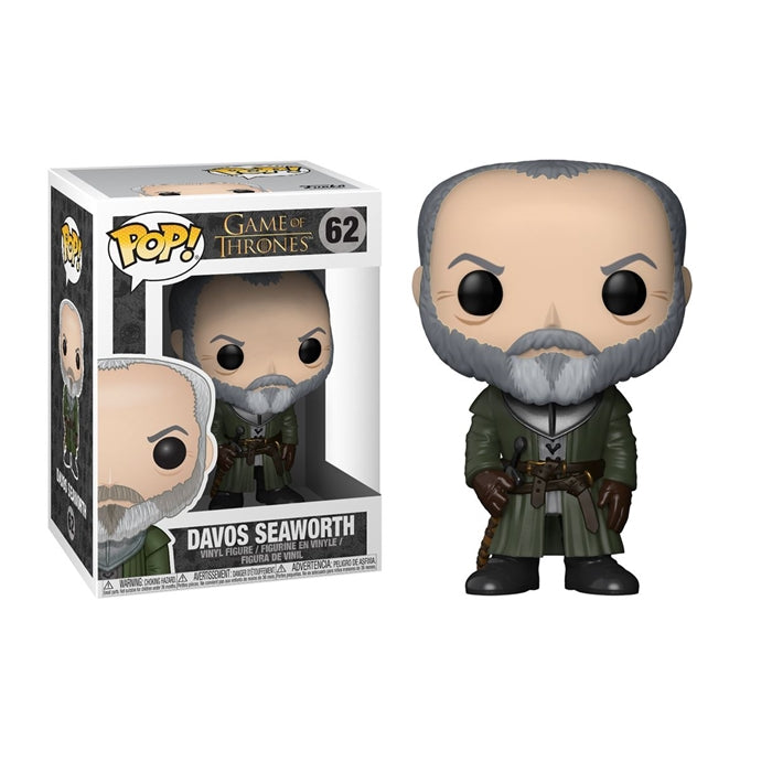 POP! GOT: 62 Game of Thrones, Davos Seaworth