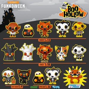 PRE-ORDER - 09/2020 Paka Paka: Boo Hollow Box (18 pcs)