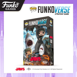 PRE-ORDER - POP! Funkoverse: Jaws 100 Strategy Game
