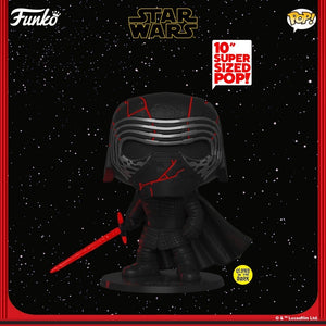 "POP! Star Wars: 344 Rise of Skywalker, Kylo Ren (GITD) (10"")"