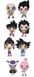 POP! Animation:  Dragon Ball Z S6 (Bundle of 8)