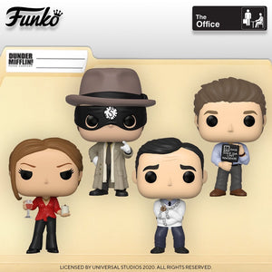 PRE-ORDER - POP! TV: The Office (Bundle of 4)