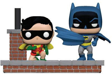 POP! Heroes: 1972 Batman, Robin Batman 80TH Anniversary
