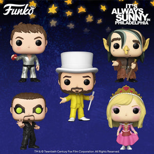 PRE-ORDER - POP! TV: It's Always Sunny In Philadelphia, Bundle of 5