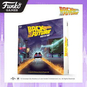 PRE-ORDER - POP! Funko Games: Back to the Future, Back in Time Game