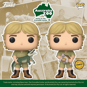 PRE-ORDER - POP! TV: Crocodile Hunter, Steve Irwin w/ Chase Bundle of 2