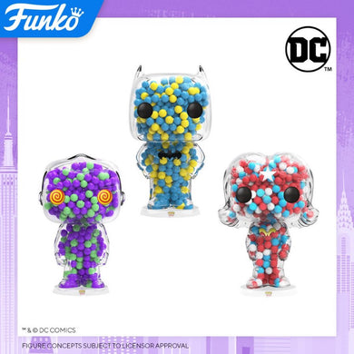 PRE-ORDER - POP! Candy: DC Bundle of 3