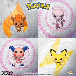 PRE-ORDER - POP! Games: Pokemon S2 (Bundle of 4)