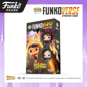 PRE-ORDER - POP! Funkoverse: Back to the Future 100 Strategy Game