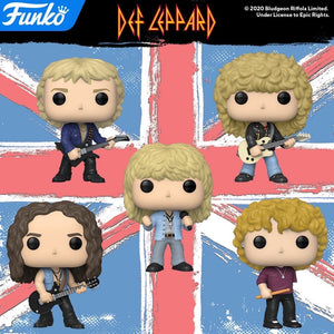 POP! Rocks: Def Leppard, Bundle of 5