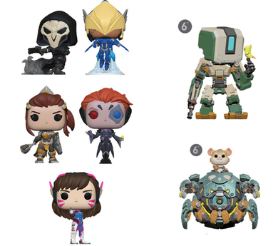 POP! Games: Overwatch Bundle of 7
