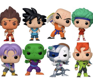 POP! Animation: Dragon Ball Z, Bundle of 8