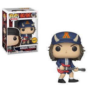 PRE-ORDER - 03/2019 POP! Rocks: 91 AC/DC, Angus Young Chase Bundle
