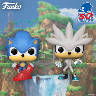 PRE-ORDER - POP! Games: Sonic 30th, Bundle of 2