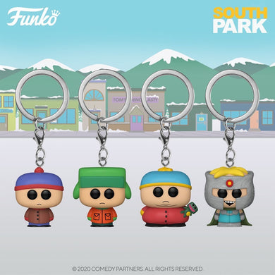 PRE-ORDER - POP! Keychain: South Park, Bundle of 4