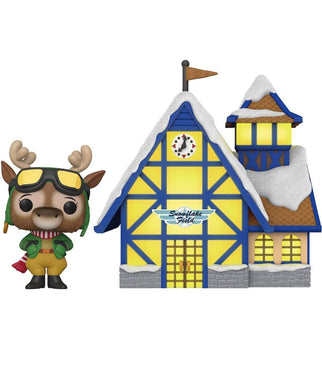PRE-ORDER - POP! Town: Peppermint Lane, Harriet Camber & Snowflake Field