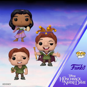 POP! Disney: Hunchback of Notre Dame, Bundle of 3