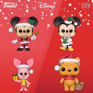 POP! Disney:  Holiday Bundle of 4