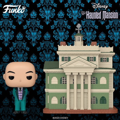 PRE-ORDER - POP! Towns: Haunted Mansion w/Butler